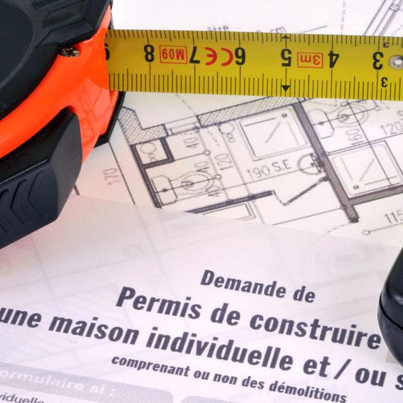 dépôt de permis de construire